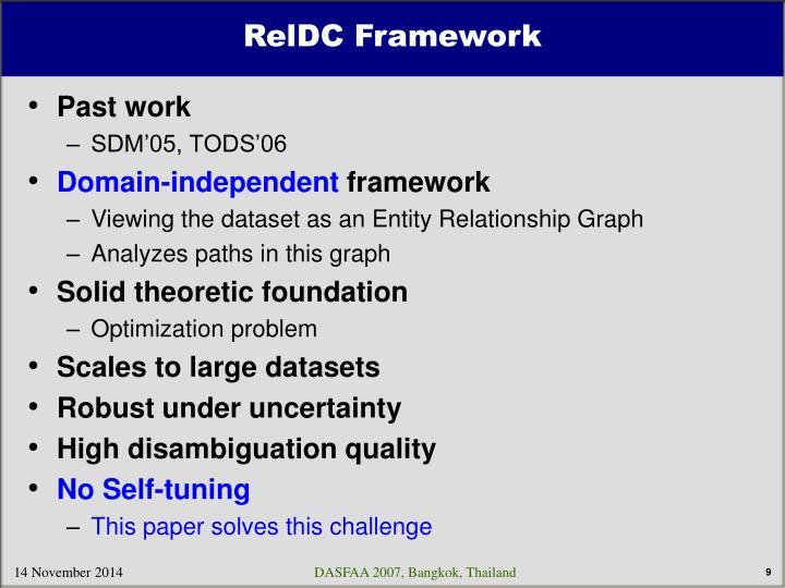 RelDC Framework