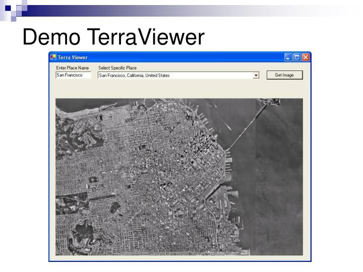 Demo TerraViewer