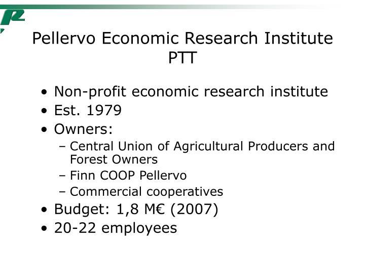 Pellervo Economic Research Institute PTT