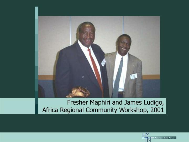 Fresher Maphiri and James Ludigo,