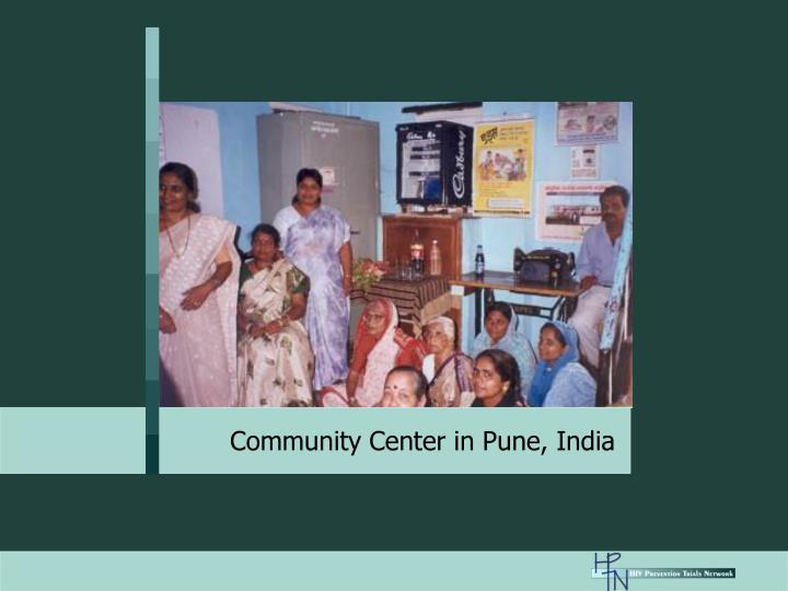 Community Center in Pune, India