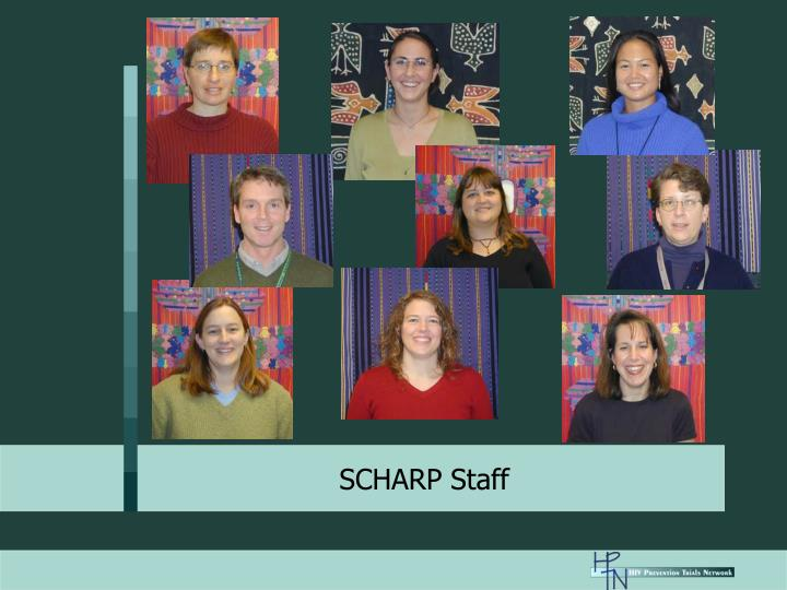 SCHARP Staff