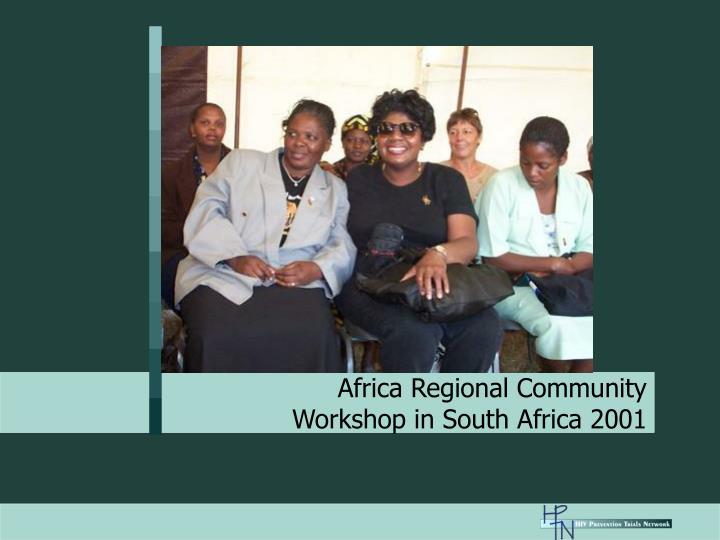 Africa Regional Community