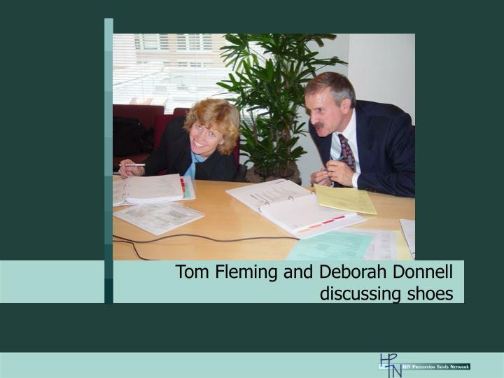 Tom Fleming and Deborah Donnell