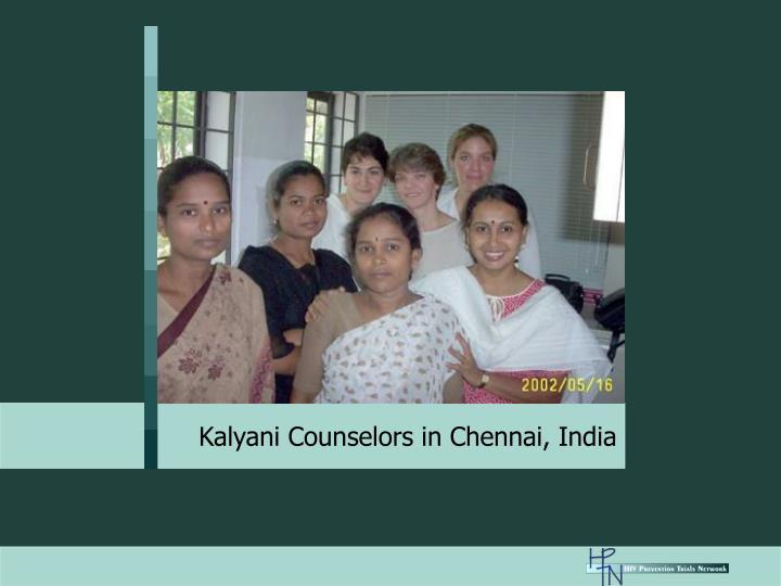 Kalyani Counselors in Chennai, India