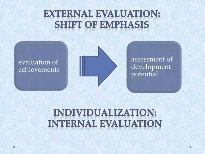 evaluation of achievements