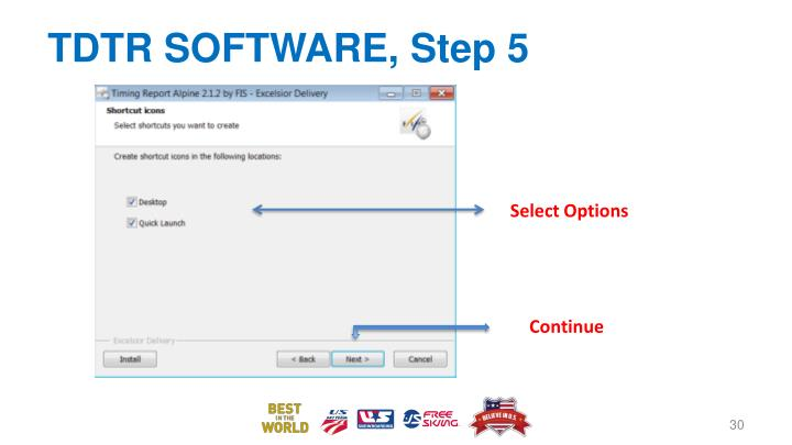 TDTR SOFTWARE, Step 5