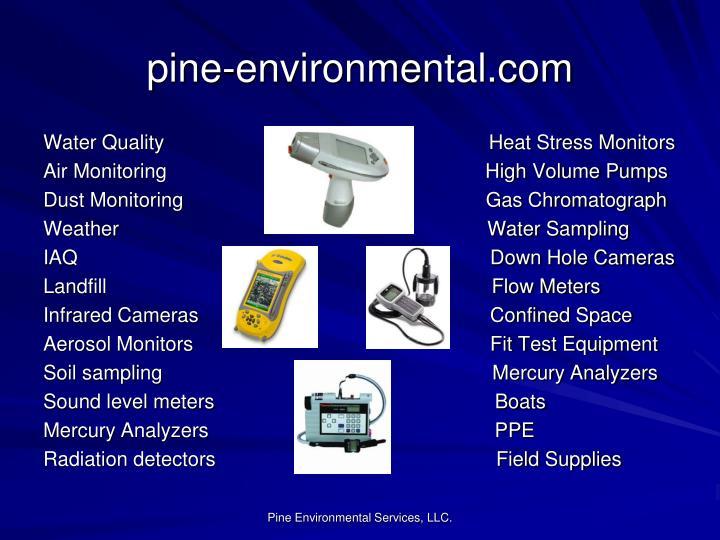 pine-environmental.com