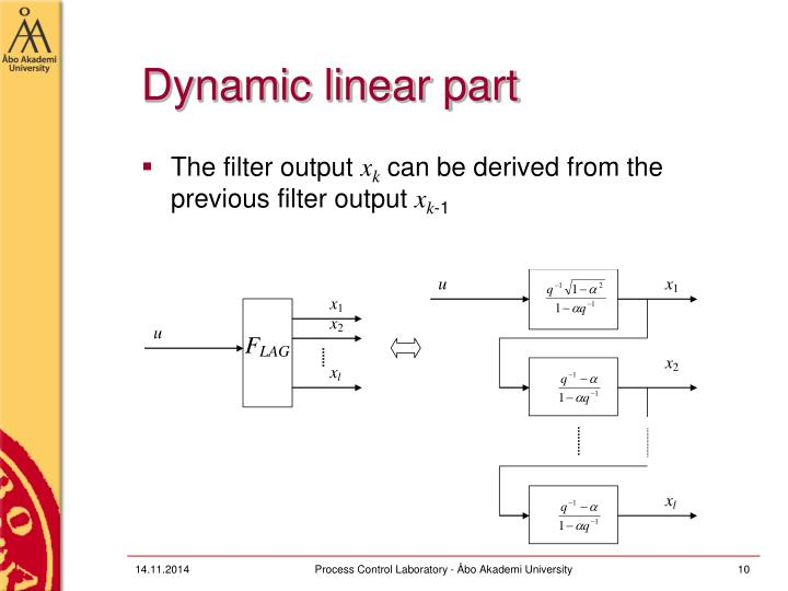 Dynamic linear part