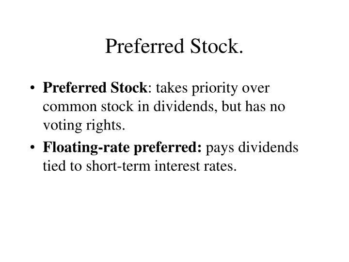 Preferred Stock.