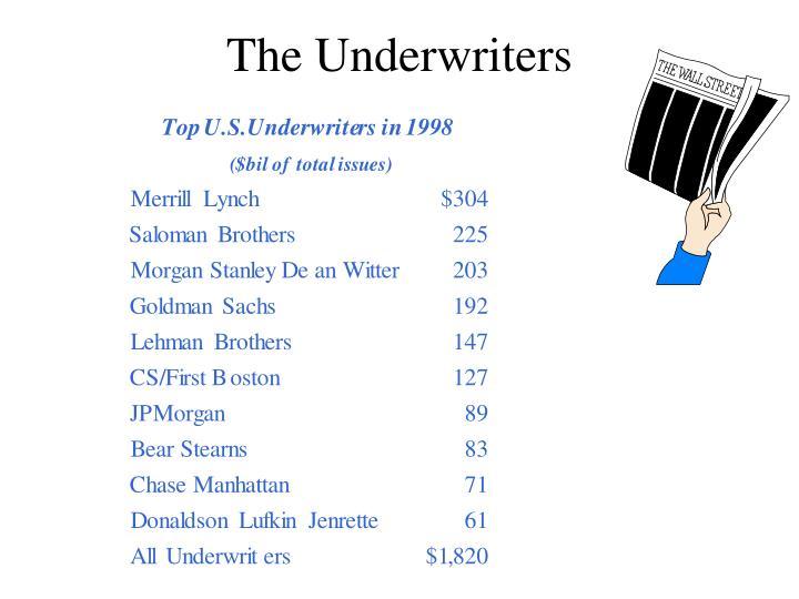 The Underwriters