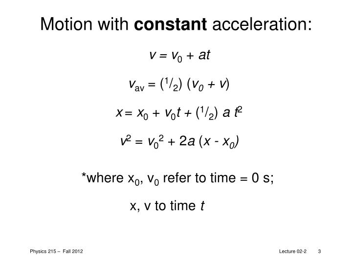 Motion with