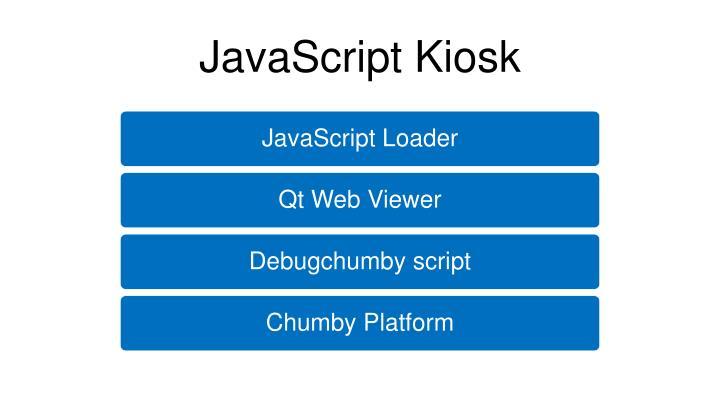 JavaScript Kiosk