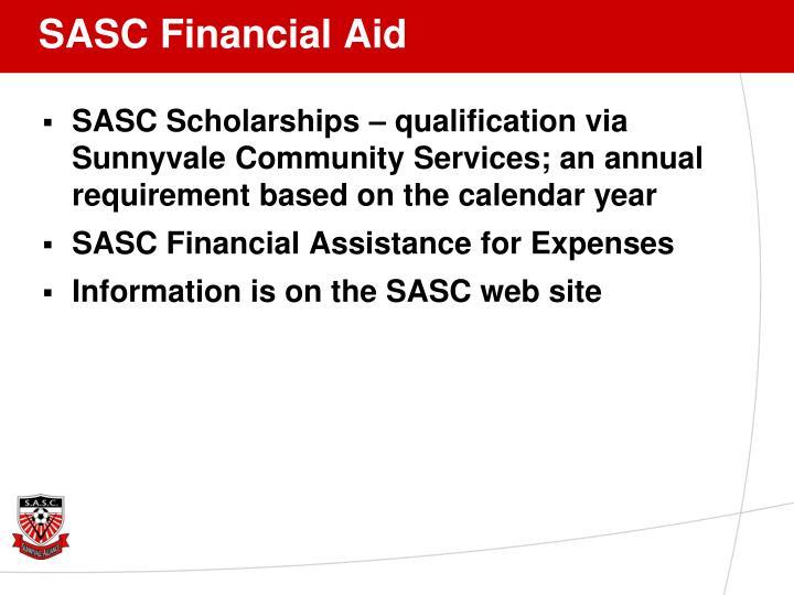 SASC Financial Aid