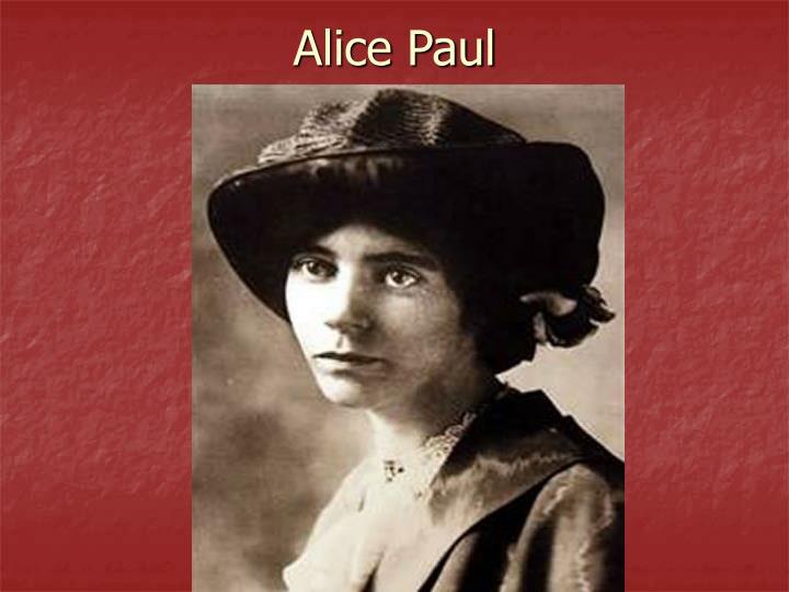Alice Paul