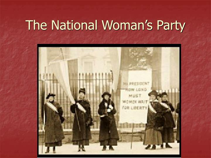 The National Woman's Party