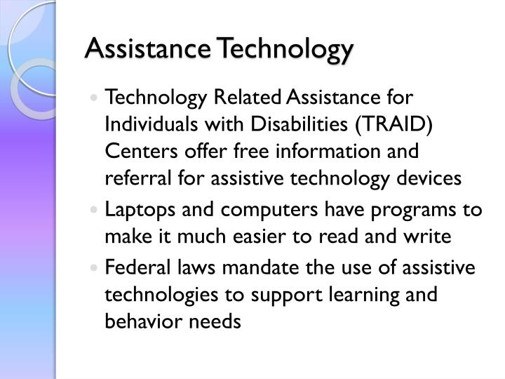 Assistance Technology