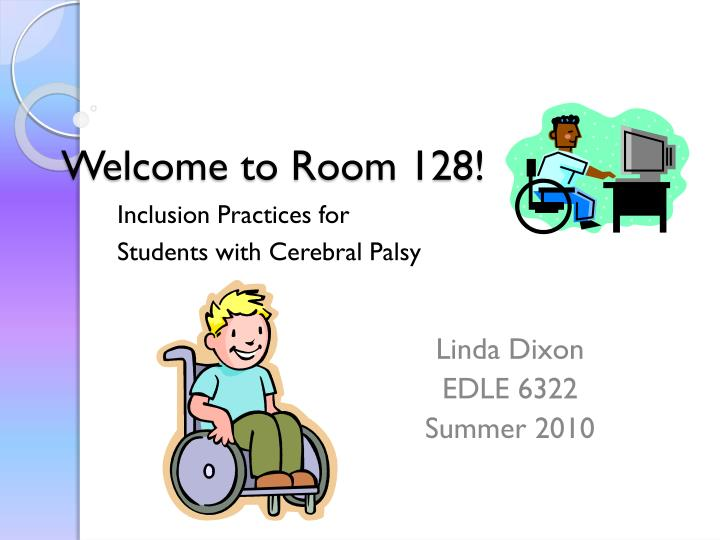 Welcome to Room 128!