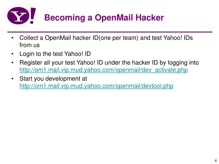 Becoming a OpenMail Hacker