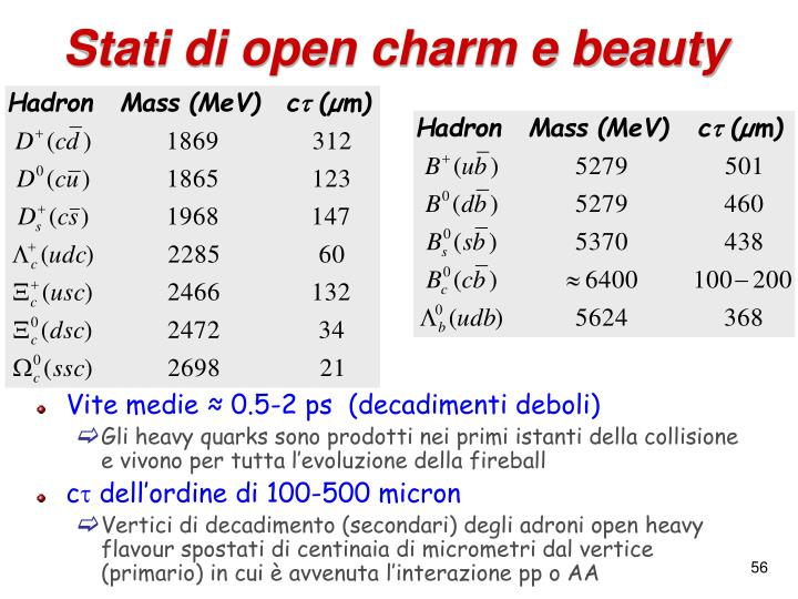 Stati di open charm e beauty