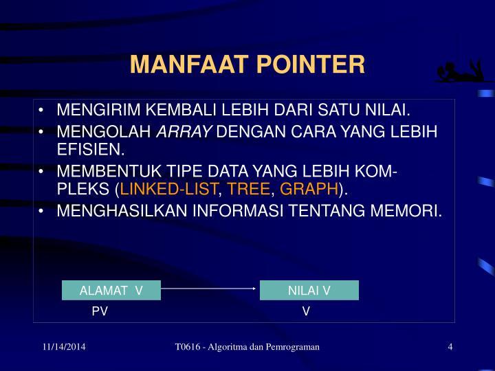 MANFAAT POINTER