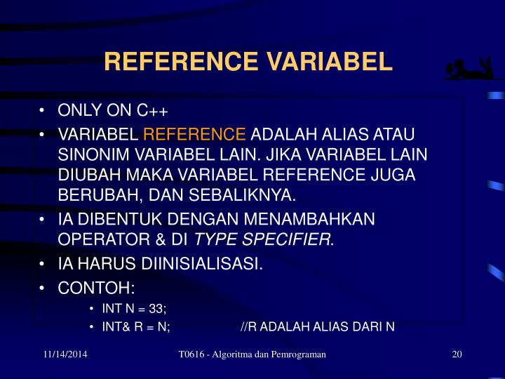 REFERENCE VARIABEL
