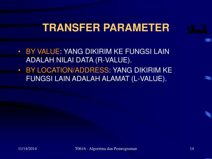 TRANSFER PARAMETER