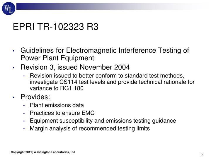 EPRI TR-102323 R3