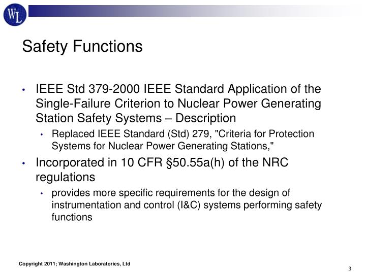 Safety Functions