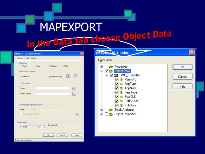 MAPEXPORT