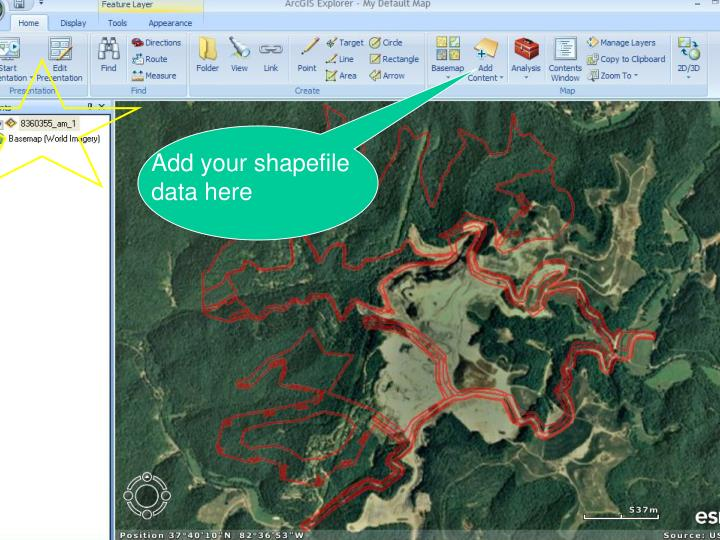 Add your shapefile