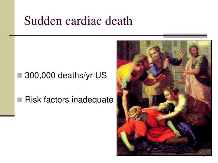 Sudden cardiac death