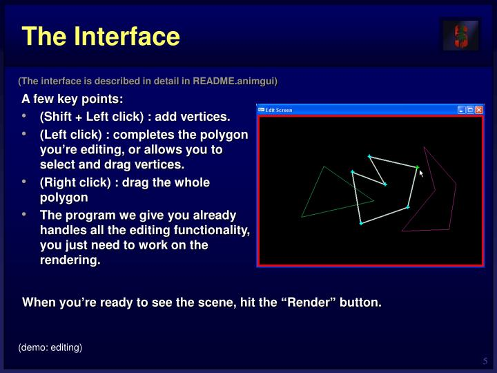 The Interface