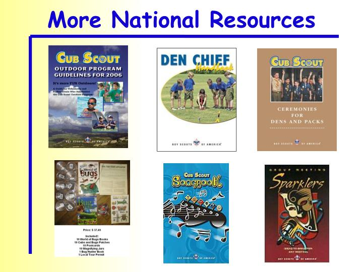 More National Resources