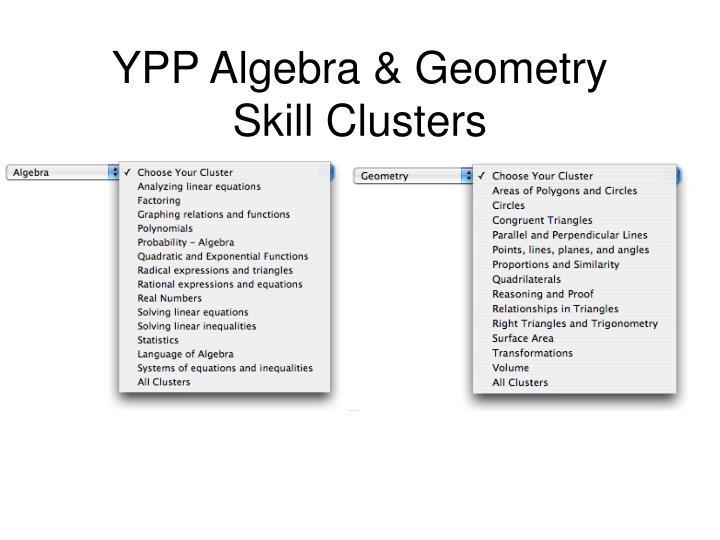YPP Algebra & Geometry