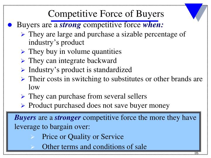 Buyers are a