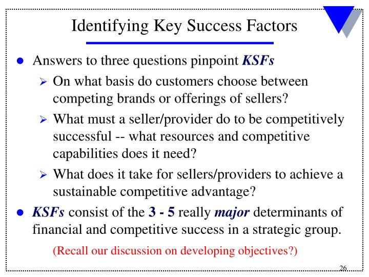 Answers to three questions pinpoint
