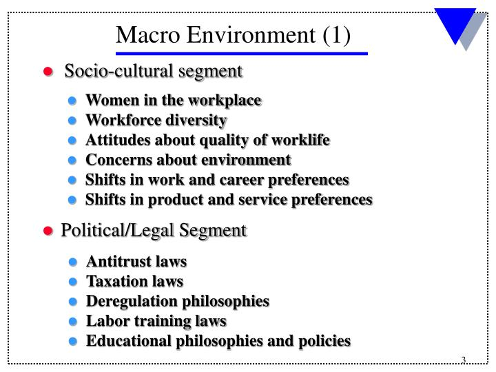 Socio-cultural segment