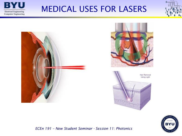 MEDICAL USES FOR LASERS