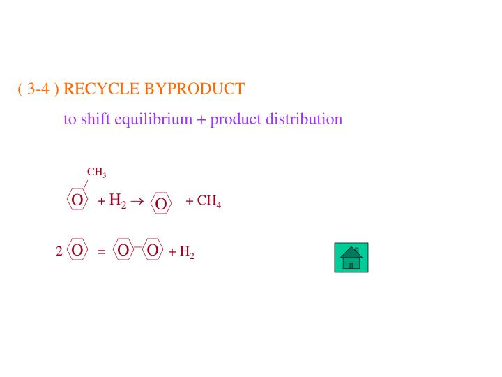 ( 3-4 ) RECYCLE BYPRODUCT