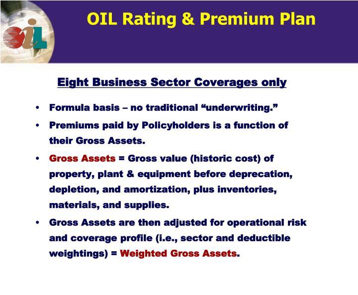 OIL Rating & Premium Plan