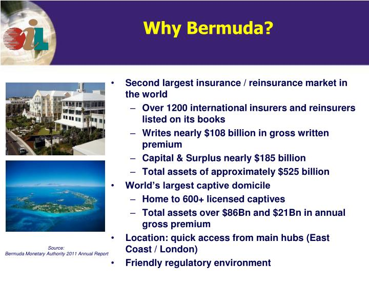 Second largest insurance / reinsurance market in the world