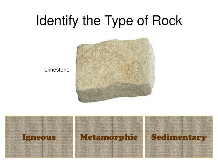 Identify the Type of Rock