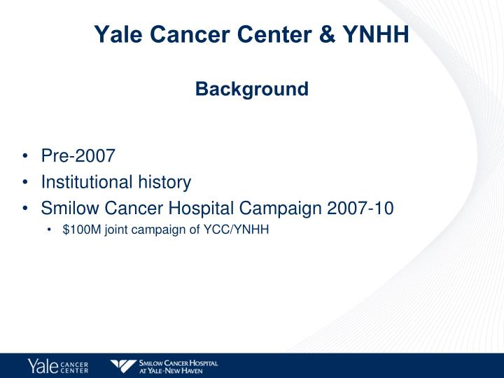 Yale Cancer Center & YNHH