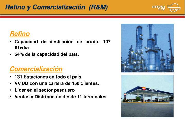 Refino y Comercialización  (R&M)