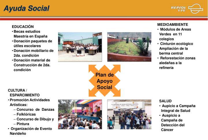 Plan de Apoyo Social