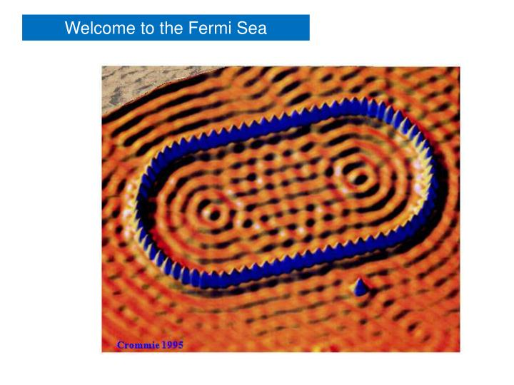 Welcome to the Fermi Sea