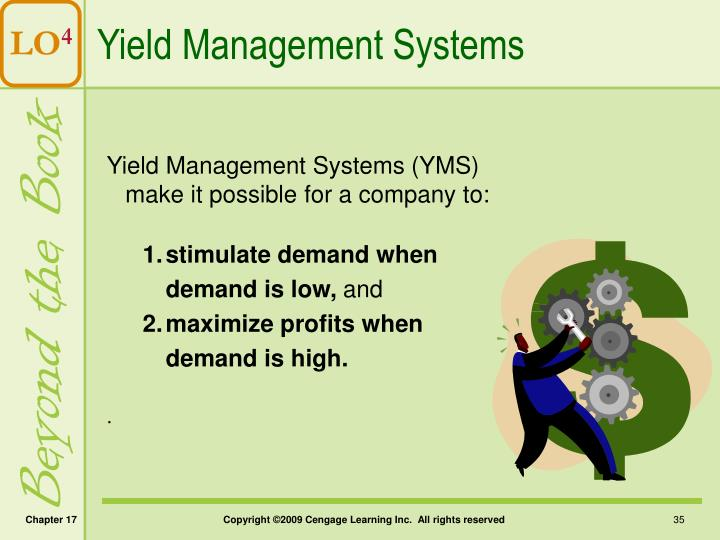 Yield Management Systems