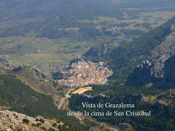 Vista de Grazalema