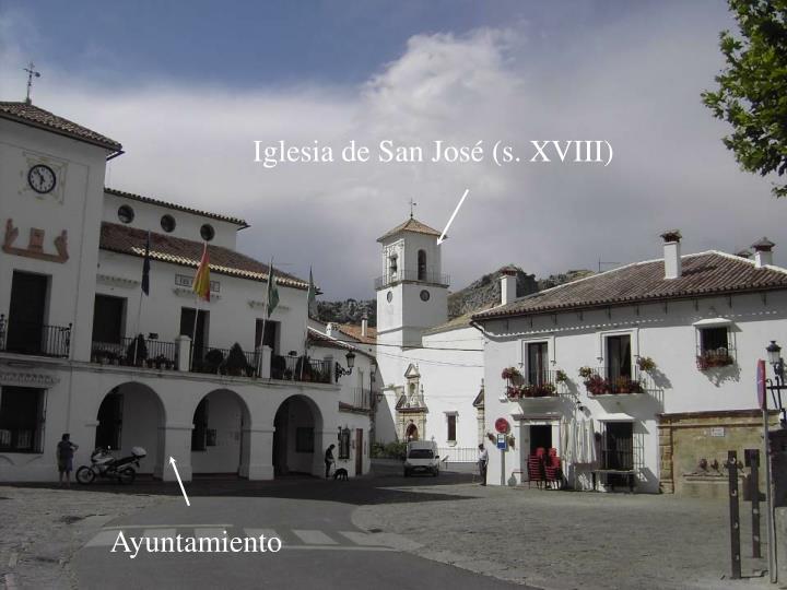 Iglesia de San José (s. XVIII)